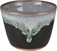 熊本千治(Chiharu Kumamoto) 朝鮮唐津蕎麦猪口 大 唐津焼 陶器(直径約10cm 高さ約7cm)