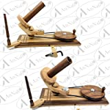 AnNafi Wooden Yarn Ball Winder Dual Color for Heavy Duty Large Knitting Wood Center | Hand Operated Premium Crafted Knitting