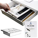 ORG' EA Large Desk Drawer for Office Bedroom, School, Kitchen Desk Drawer compatible with iPad, Phone Keys, Cutlery, Paper Cl