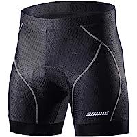 Souke Sports サイクル インナーパンツ メンズ 4Dパッド 痛み軽減 軽量速乾 レーサーパンツ 滑り止め自転…