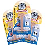 Bullibone Dog Chew: Durable Dog Toys for Small Dogs and Aggressive Chewers. Long Lasting Peanut Butter Flavored Dog Chews. Gr