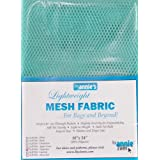 "Annie by Annie Mesh Fabric Lightweight 18""x 54"" Turquoise, PBA02033, Turquoise, 18"" by 54"""