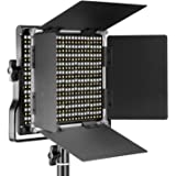 Neewer Professional Metal Bi-color LED Video Light for Studio, YouTube, Product Photography, Video Shooting, Durable Metal Fr