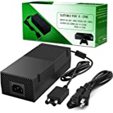 Power Supply Brick for Xbox One,UKor Xbox 1 AC Adapter Power Cord Replacement Charger for Microsoft Xbox one 100-240V, Black