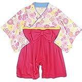 袴 ロンパース 女の子 ベビー 赤ちゃん はかま 和装 カバーオール フォーマル