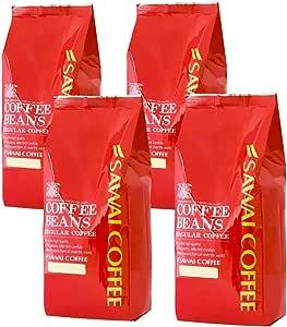 澤井珈琲 コーヒー 専門店 やくもブレンド 2種 セット 2kg (500g x 4) 200杯分 超大入り 【 豆のまま 】