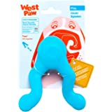 West Paw Zogoflex Tizzi Interactive Treat Dispensing Dog Fetch Play Toy, 100% Guaranteed Tough, It Floats!, Made in USA, 4.5-