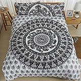 OneMtoss 掛け布団 布団カバー + 枕カバー 寝具カバーセット 四節適用 柔らかい シンプル ベッドセット カバーリングセット 柔らかい 通年寝具