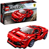 LEGO Speed Champions 76895 Ferrari F8 Tributo Toy Cars for Kids, Building Kit Featuring Minifigure