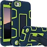 iPod Touch 7th Gen Case,iPod Touch 6th Gen Case,Kickstand Case for iPod Touch,Anti-Scratch Anti-Fingerprint Heavy Duty Protec