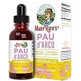 PAU D'Arco Blend by MaryRuth's   Herbal PAU D'Arco Tincture with Reishi Mushroom, Echinacea, Usnea Lichen   PAU D'Arco Suppor