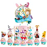 Party Supplies for Alice In Wonderland Cake Topper Cupcake Toppers Theme Birthday Supplies Favors