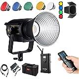 Godox VL150 LED Video Light with BD-04,5600K Daylight Bowens Mount Studio Continuous Light Lamp CRI 96+ TLCI 95 for Photograp