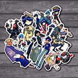 10Pcs Blur Band Gorillaz Cool Sticker Decal for Kids Toys Car On Laptop Bicycle Suitcase Notebook Skateboard Waterproof Stick