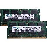 サムスン純正 PC3-10600(DDR3-1333) SO-DIMM 4GB×2枚組 1.5V 204pin メモリンゴブランドノートPC用メモリ mac&windows対応
