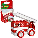LEGO DUPLO My First Fire Truck 10917 Educational Fire Truck Toy, Great Birthday  Toddlers Ages 18 Months and up