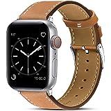 BRG コンパチブル apple watch バンド,本革 ビジネススタイル アップルウォッチバンド アップルウォッチ4…