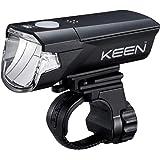 キャットアイ(CAT EYE) ヘッドライト KEEN 周囲へのまぶしさに配慮した上カット配光 約2500カンデラ コンパクトボディ HL-EL370