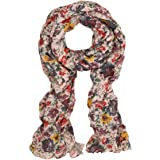 Premium Flower Print Scarf (2 Colors Available: Purple & Orange)