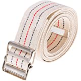 COW&COW Gait Belt 60inch - with Metal Buckle - Transfer Walking and Standing Assist Aid for Caregiver Nurse Therapist 2 inche