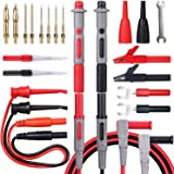 Bionso 21-Piece Multimeter Leads Kit, Professional and Upgraded Test Leads Set with Replaceable Gold-Plated Multimeter Probes