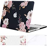 MOSISO MacBook Pro 13 Inch Case A1502 & A1425,Plastic Pattern Hard Shell Case & Keyboard Cover & Screen Protector Compatible