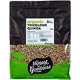 Honest to Goodness Organic Tricolour Quinoa, 5kg