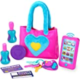 JOYIN Play-Act My First Purse Pretend Play Purse Toy Set for Little Girls, Interactive Purse Toy Set Including Pretend Play S