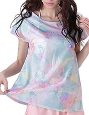 ICEPARDAL(アイスパーダル) ラッシュガード レディース オーバー Aシャツ 全12色柄 S~XLサイズ UVカット UPF50+ IR-7900