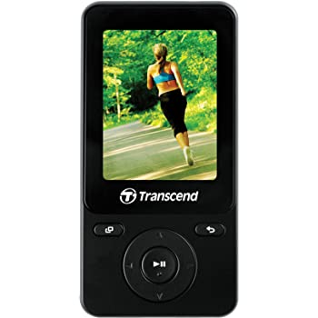 TRANSCEND MP3プレーヤー 8GB ブラック 2年保証 TS8GMP710K