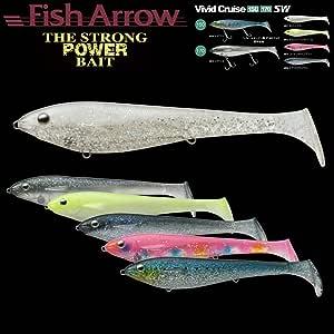 Fish Arrow(フィッシュアロー) ワーム ビビッドクルーズ170SW #02 チャートバックパール.