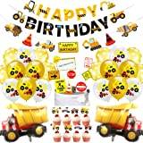 78 Pack Construction Birthday Party Supplies for Boys Construction Theme Birthday Party Decorations Dump Truck Theme Birthday