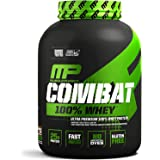 MusclePharm Combat 100% Whey, Muscle-Building Whey Protein Powder, 25 g of Ultra-Premium, Gluten-Free, Low-Fat Blend of Fast-