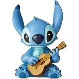 Enesco Disney Showcase Lilo and Stitch Guitar Mini Figurine, 2.5 Inch, Multicolor