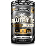 MuscleTech Glutamine Powder, 100% Ultra Pure L-Glutamine for Muscle Endurance & Recovery, 60-Day Supply, 10.58 oz (300g)