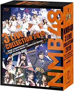 NMB48 3 LIVE COLLECTION 2019 [Blu-ray]