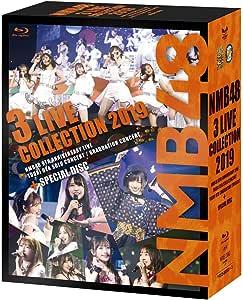 【Amazon.co.jp限定】NMB48 3 LIVE COLLECTION 2019(ビジュアルシート3枚セット(Amazon.co.jp ver.)付) [Blu-ray]