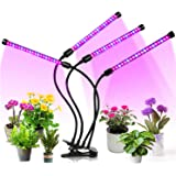 JORAGO Led Grow Light Full Spectrum LED Growing Light for Indoor Plants, 3 Switch Modes & Timing Function(Black)