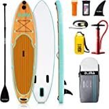 DAMA Inflatable Stand up Paddle sup Board Board,fin,Carry Bag,Paddle,Hand Pump,Leash,Repairing kit,mobilephone Waterproof Bag