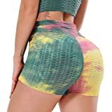 YOFIT Women Yoga Pants Sport Gym Running Casual Elastic High Waist Workout Shorts Hot Pants Tummy Control