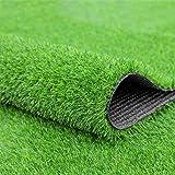 Fasmov Green Artificial Grass Rug Grass Carpert Rug, 3.2' x 6.5'