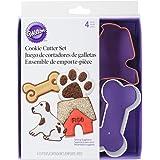 Wilton Metal Cookie Cutter Set, Pet Theme, 4-Pack