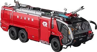 ハセガワ 1/72 サイエンスワールドシリーズ ローゼンバウアー パンサー 6×6 空港用化学消防車 プラモデル SW05
