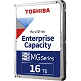 Toshiba 16TB MG Series Enterprise 3.5 Inch SATA Internal Hard Drive. Mainstream Server and Storage, Hyperscale and Cloud Stor