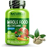 NATURELO Whole Food Multivitamin for Men 50+ - with Natural Vitamins, Minerals, Organic Extracts - Vegan Vegetarian - Best fo