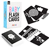 merka Baby Flash Cards High Contrast 50 Cards Visual Learning