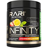 RARI Nutrition - Infinity Pre Workout Powder - Natural Preworkout Supplement for Men and Women - Keto and Vegan Friendly - No