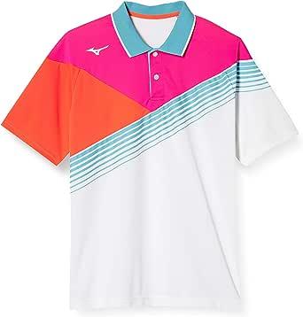 [ミズノ] テニスウェア ゲームシャツ 62JA8002 メンズ