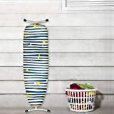 Zebra Love Design New Felted Back Ultra Thick Cotton Ironing Board Cover 144 x 52 cm