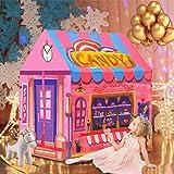 キッズテント テントハウス おもちゃハウス kids tent 女の子 折り畳み式 遊び小屋 室内用 お誕生日・クリスマ…